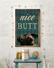 Pug Nice Butt 11x17 Poster lifestyle-holiday-poster-3