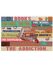 Librarian Books The Addiction 17x11 Poster front