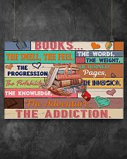 Librarian Books The Addiction 17x11 Poster poster-landscape-17x11-lifestyle-12