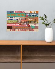 Librarian Books The Addiction 17x11 Poster poster-landscape-17x11-lifestyle-24
