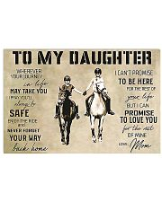 Horse To My Daughter PDN-DQH 17x11 Poster front