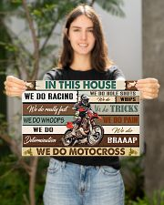 Motocross In This House PDN-pml 17x11 Poster poster-landscape-17x11-lifestyle-19