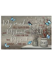 Butterfly My Mind 24x16 Poster front