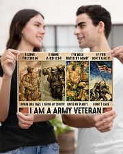Vet Army I Am PDN-dqh 17x11 Poster poster-landscape-17x11-lifestyle-20