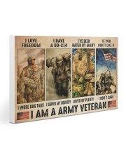 Vet Army I Am PDN-dqh Gallery Wrapped Canvas Prints tile