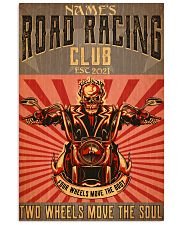 biker road racing club pt custom lqt nna 11x17 Poster thumbnail