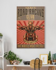 biker road racing club pt custom lqt nna 20x30 Gallery Wrapped Canvas Prints aos-canvas-pgw-20x30-lifestyle-front-03