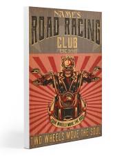 biker road racing club pt custom lqt nna 20x30 Gallery Wrapped Canvas Prints front