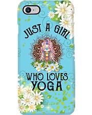Yoga Just A Girl PDN Phone Case i-phone-8-case