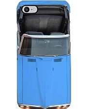Car Pon 1968 Firebird BLUE- PDN-NTV Phone Case i-phone-8-case