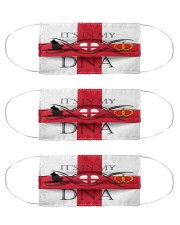 England in my DNA Cloth Face Mask - 3 Pack front