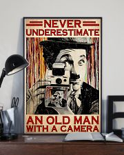Photograph Chap Old Man PDN-dqh 11x17 Poster lifestyle-poster-2