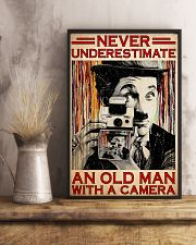 Photograph Chap Old Man PDN-dqh 11x17 Poster lifestyle-poster-3