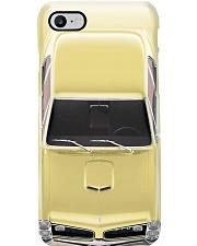 Car Pon 1966 GTO Candlelite Cream PDN-pml Phone Case i-phone-8-case