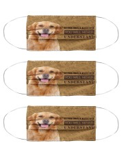 Golden Retriever If You Don't Have One Cloth Face Mask - 3 Pack front