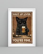 Cat beer shut up liver 24x36 Poster lifestyle-poster-5