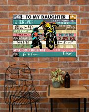 Dirtbike To My daughter 36x24 Poster poster-landscape-36x24-lifestyle-20