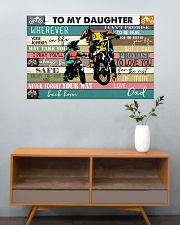 Dirtbike To My daughter 36x24 Poster poster-landscape-36x24-lifestyle-21