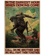Military In The Darkest Hour PDN-DQH  11x17 Poster front