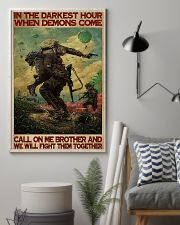 Military In The Darkest Hour PDN-DQH  11x17 Poster lifestyle-poster-1
