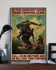 Military In The Darkest Hour PDN-DQH  11x17 Poster lifestyle-poster-2