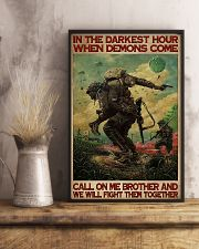 Military In The Darkest Hour PDN-DQH  11x17 Poster lifestyle-poster-3