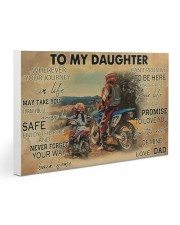 Motocross To My Daughter PDN ngt 30x20 Gallery Wrapped Canvas Prints thumbnail