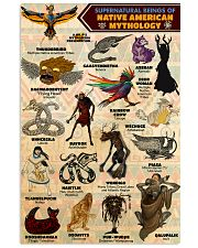 Native Mythology PDN-DQH  11x17 Poster front