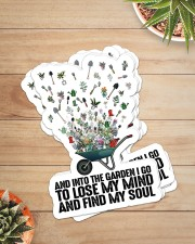 Gardening Find My Soul Sticker Sticker - 6 pack (Vertical) aos-sticker-6-pack-vertical-lifestyle-front-07