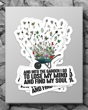 Gardening Find My Soul Sticker Sticker - 6 pack (Vertical) aos-sticker-6-pack-vertical-lifestyle-front-09