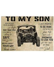 SXS -TO MY SON 36x24 Poster front