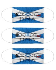 Scotland in my DNA Cloth Face Mask - 3 Pack front