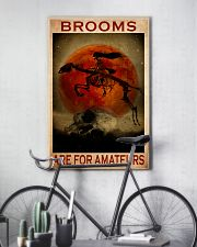 Horse broom for amateur 11x17 Poster lifestyle-poster-7