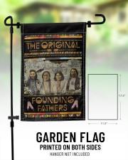 """Native The Original Founding Fathers PDN-dqh 11.5""""x17.5"""" Garden Flag aos-garden-flag-11-5-x-17-5-lifestyle-front-01"""