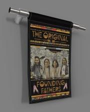 """Native The Original Founding Fathers PDN-dqh 11.5""""x17.5"""" Garden Flag aos-garden-flag-11-5-x-17-5-lifestyle-front-18"""