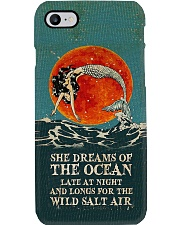 She Dreams of The Ocean pc Phone Case i-phone-8-case