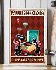 Music Cat Drum Easily Distracted PDN-dqh 11x17 Poster lifestyle-poster-4
