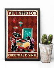 Music Cat Drum Easily Distracted PDN-dqh 11x17 Poster lifestyle-poster-8
