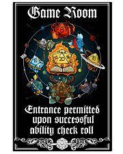 DD Gameroom Sign PDN-pml  24x36 Poster front