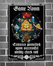 DD Gameroom Sign PDN-pml  24x36 Poster poster-portrait-24x36-lifestyle-18