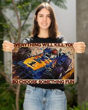 Cadilla racing choose something fun pt dvhh-dqh 17x11 Poster poster-landscape-17x11-lifestyle-19