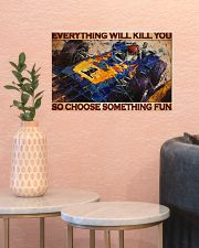 Cadilla racing choose something fun pt dvhh-dqh 17x11 Poster poster-landscape-17x11-lifestyle-21