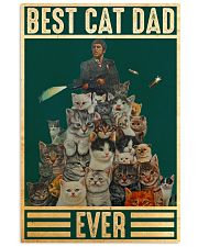 Cat Best Cat Dad PDN-DQH  24x36 Poster front