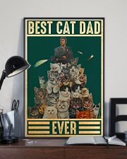 Cat Best Cat Dad PDN-DQH  24x36 Poster lifestyle-poster-2