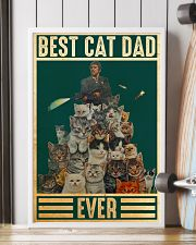 Cat Best Cat Dad PDN-DQH  24x36 Poster lifestyle-poster-4