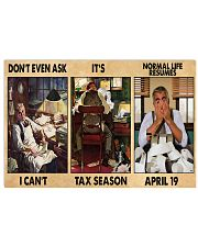 Accountant Dont Even Ask PDN-nna 17x11 Poster front