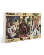 Accountant Dont Even Ask PDN-nna Gallery Wrapped Canvas Prints tile