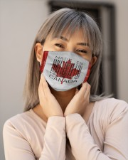 Canada Made In Code  Cloth Face Mask - 3 Pack aos-face-mask-lifestyle-17