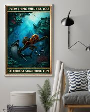 Diving Choose ST Fun PDN-NTH 11x17 Poster lifestyle-poster-1