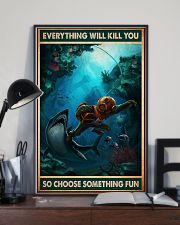 Diving Choose ST Fun PDN-NTH 11x17 Poster lifestyle-poster-2